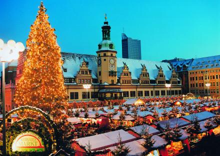 Фото рынка на рождество в Европе