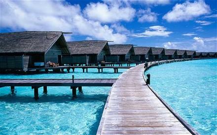 Мальдивские бунгало